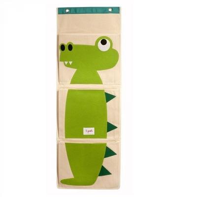 壁掛式收納袋-鱷魚
