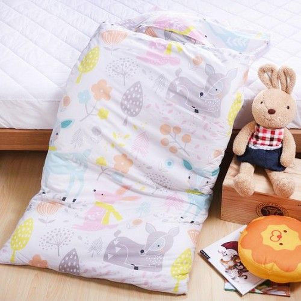 日本濱川佐櫻 - MIT純棉冬夏兩用兒童睡袋-森林夢境