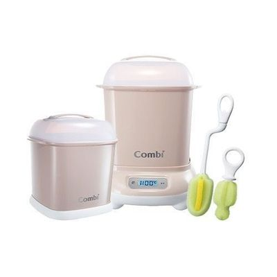 Pro 高效消毒烘乾鍋-超值優惠組 H-暖心杏-消毒鍋+保管箱+刷具組
