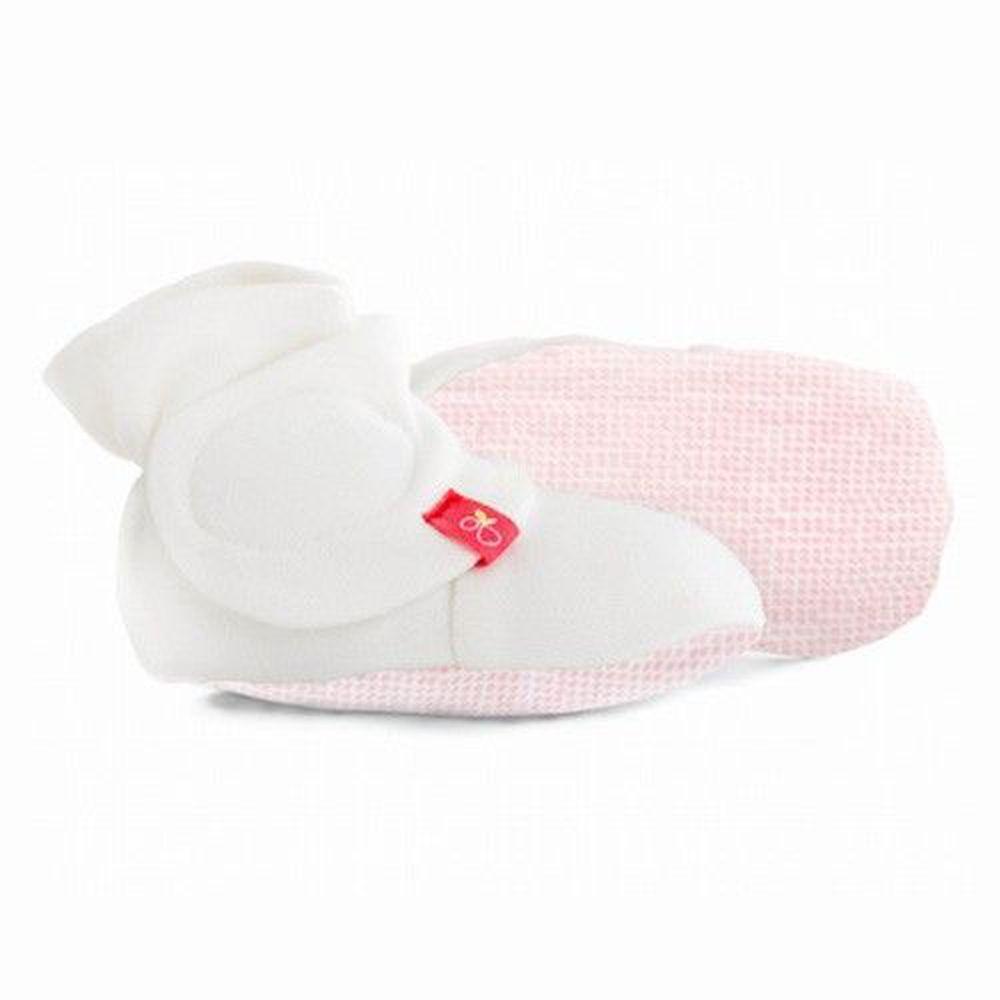 美國 GOUMIKIDS - 有機棉嬰兒腳套-粉紅點點