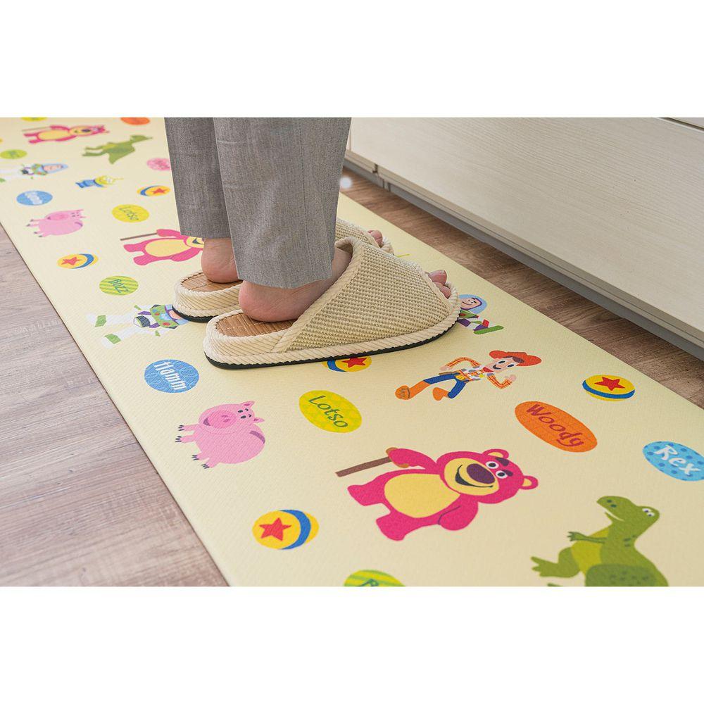 日本千趣會 - 迪士尼 長條型腳踏墊(廚房/臥室)-童趣玩具總動員