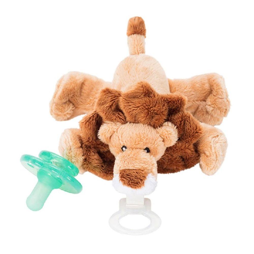 美國 nookums - 寶寶 可愛造型 安撫奶嘴 / 玩偶-小獅子