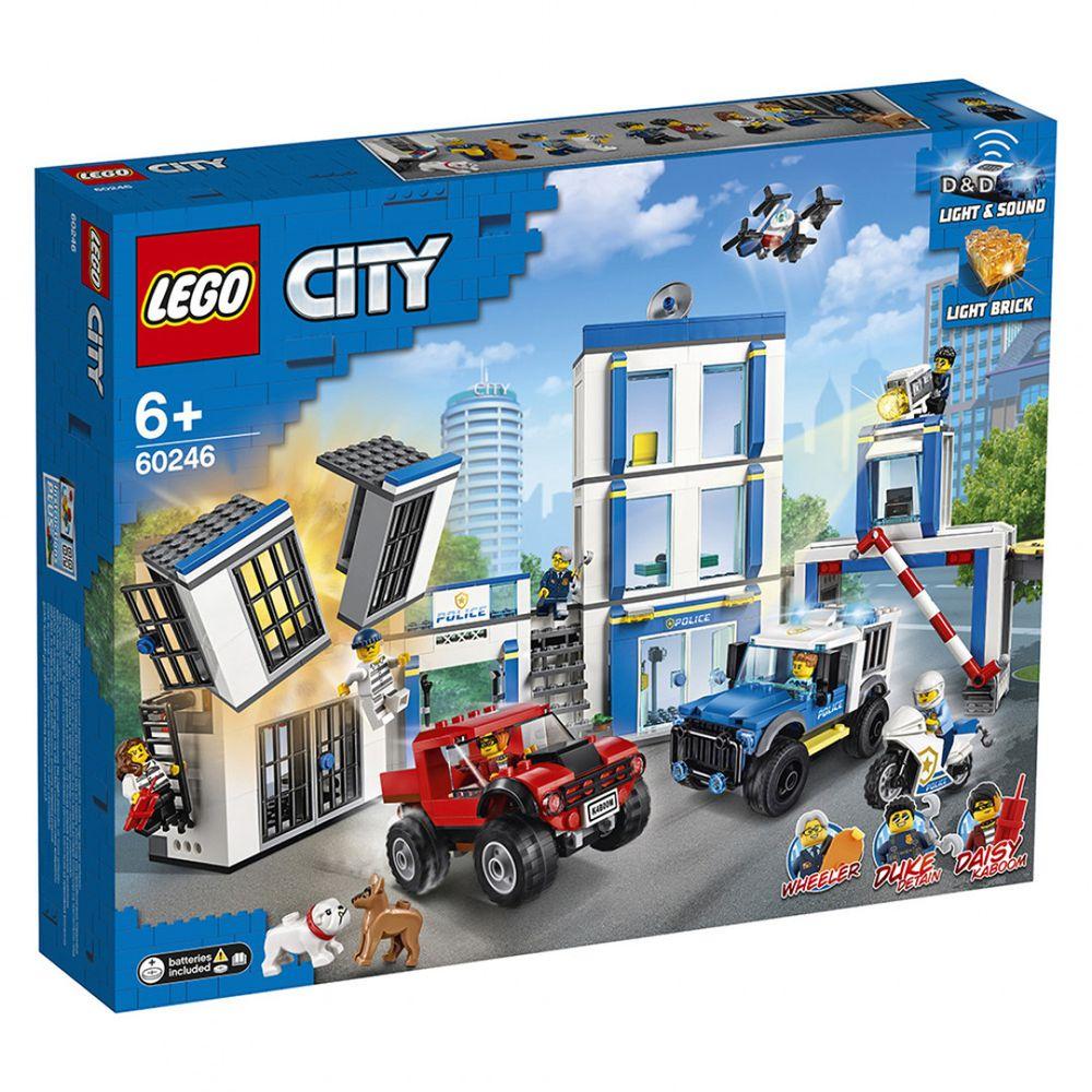 樂高 LEGO - 樂高 CITY 城市警察系列 -  警察局 60246-743pcs