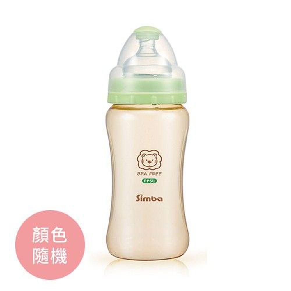 Simba 小獅王辛巴 - PPSU 寬口雙凹中奶瓶-270ml/支
