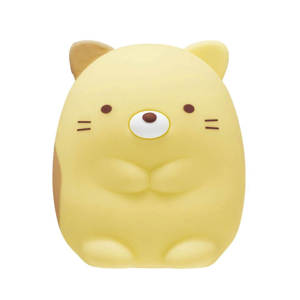 日本千趣會 - 角落生物 備長炭除臭盒-貓咪-黃 (6.5cm高)