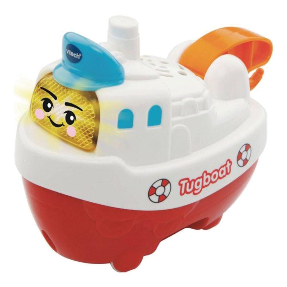 Vtech - 2合1嘟嘟戲水洗澡玩具系列-神氣拖船