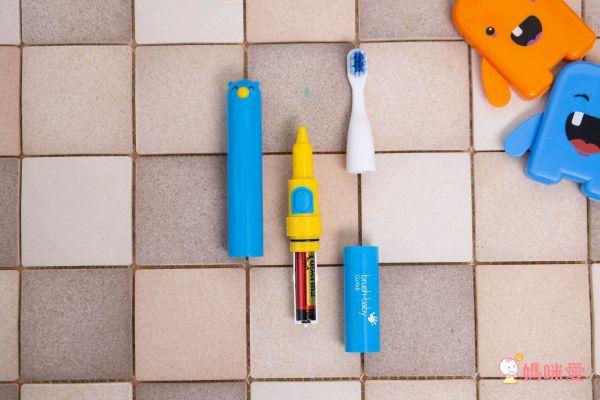 英國brush-baby 攜帶式聲波電動牙刷