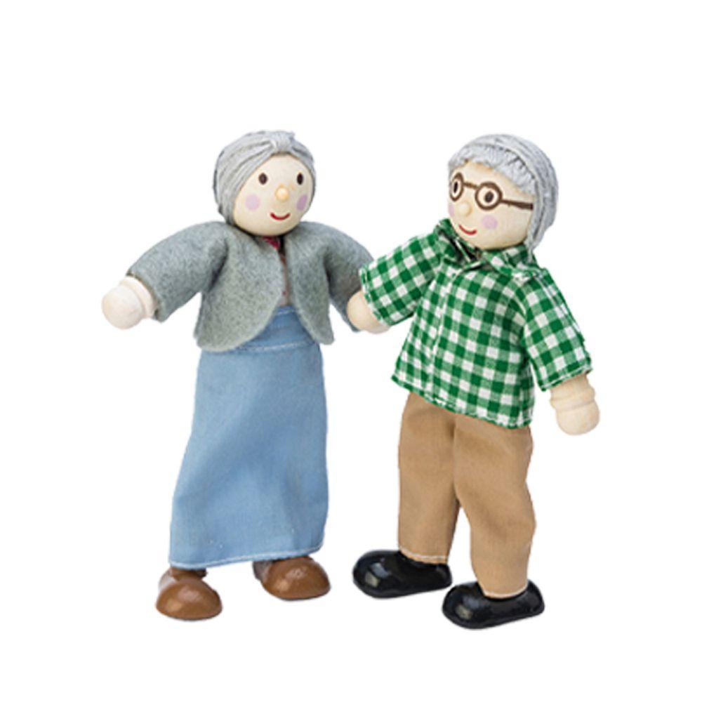 英國 Le Toy Van - 娃娃家族-阿公與阿嬤