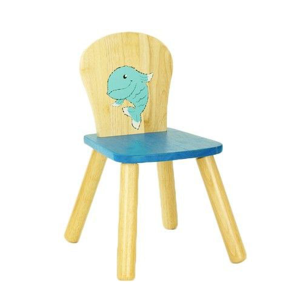 泰國 Voila - 造型椅子 (魚)/兒童椅-3歲以上