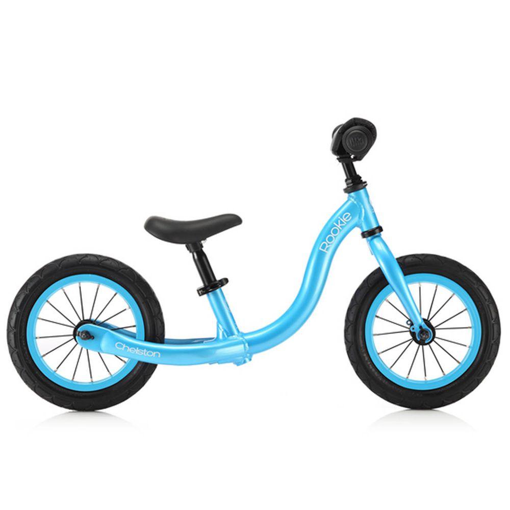 Chelston bikes - Rookie 平衡滑步車-冰河藍-平衡滑步車 x 1 , 3 歲以下專用ABS氣嘴蓋 x 1