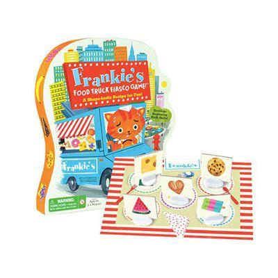 親子互動桌遊-法蘭奇的食物卡車