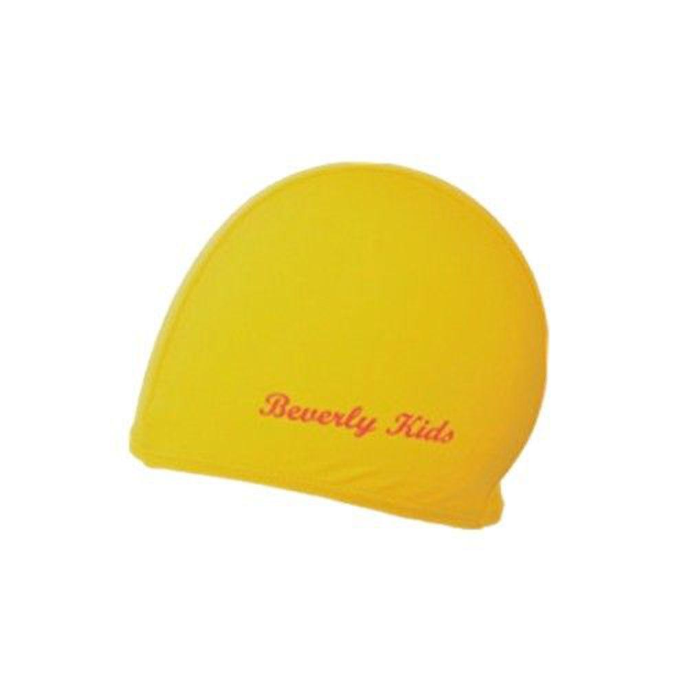 德國 BeverlyKids - 兒童泳帽-黃 (M [40~55cm])