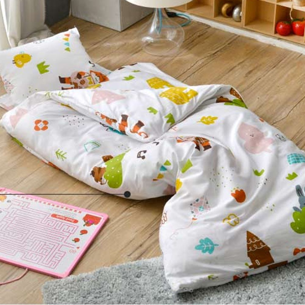 格蕾寢飾 Great Living - 防蹣抗菌兒童睡袋-與花仔野餐去