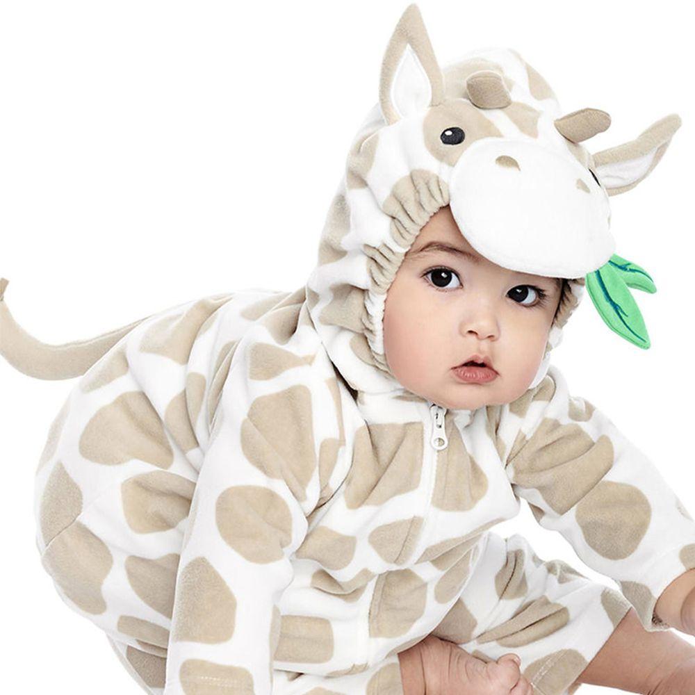 美國 Carter's - 嬰幼兒造型套裝兩件組-長頸鹿