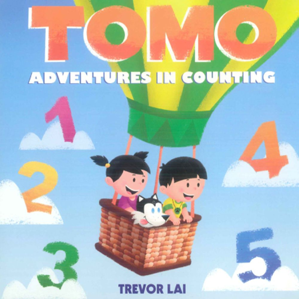 TOMO ADVENTURES IN COUNTING 硬頁書