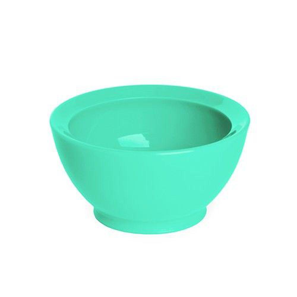 美國 Calibowl - 8oz防漏學習碗-藍綠