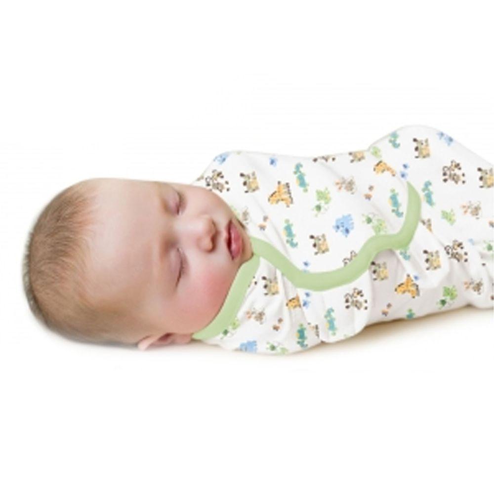 Summer Infant - 聰明懶人育兒包巾3入組-親子森林-適用年齡:0~3個月