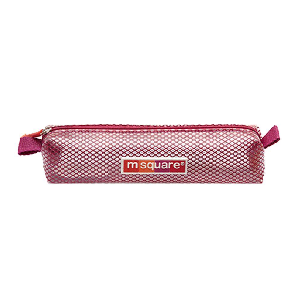 m square - 商旅系列Ⅱ防水牙刷牙膏袋-紫紅 (19*4*4.5cm)