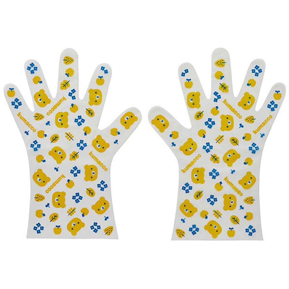 日本 SKATER 代購 - 兒童手套10雙組-滿版小熊