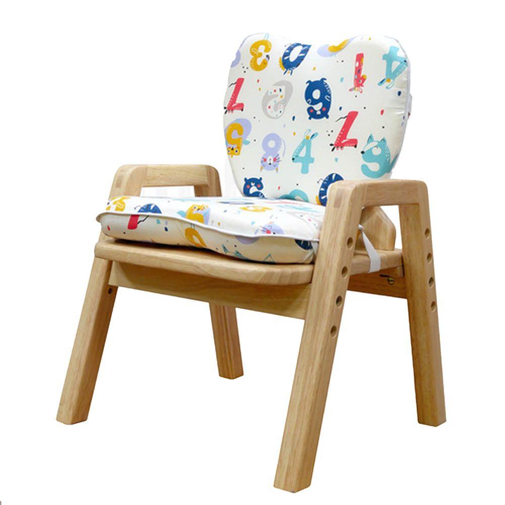 環安家具 - 成長椅座墊-小小數學家-C-004-4