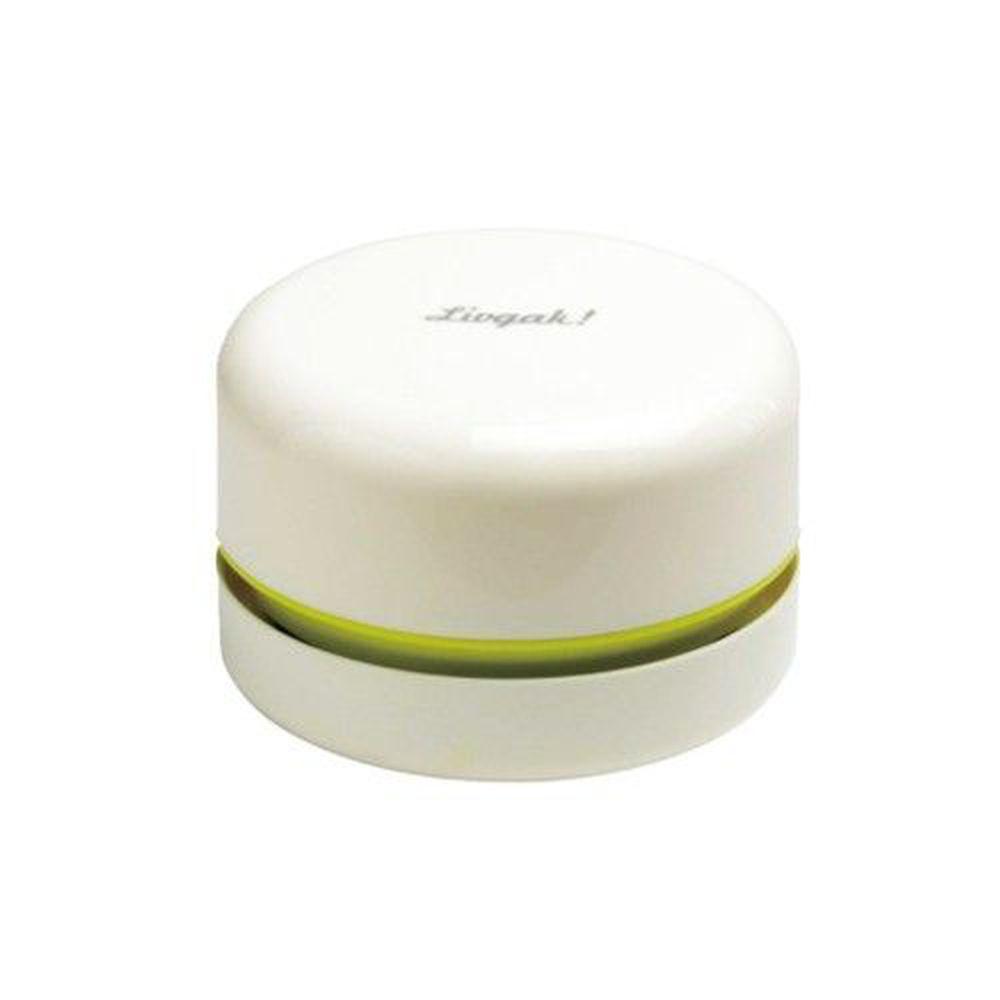 日本文具 SONIC - 電動桌面迷你吸塵器(紙屑/橡皮擦屑)-白