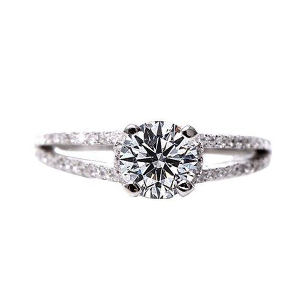 美國ILG鑽飾 - Starlight 0.75克拉 -頂級美國ILG鑽飾,媲美真鑽亮度的鑽飾-加贈高級珠寶級絨布盒1個-s925純銀外層電鍍頂級白K