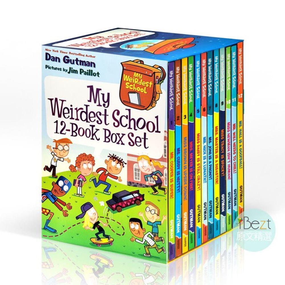 My Weirdest School 12-Book Box Set