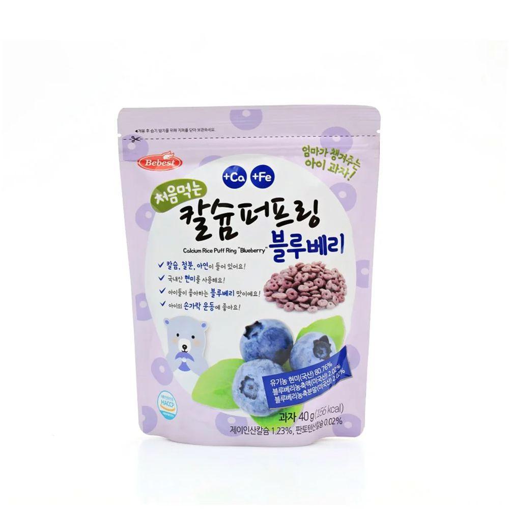 韓國Bebest貝思 - 米泡芙-藍莓