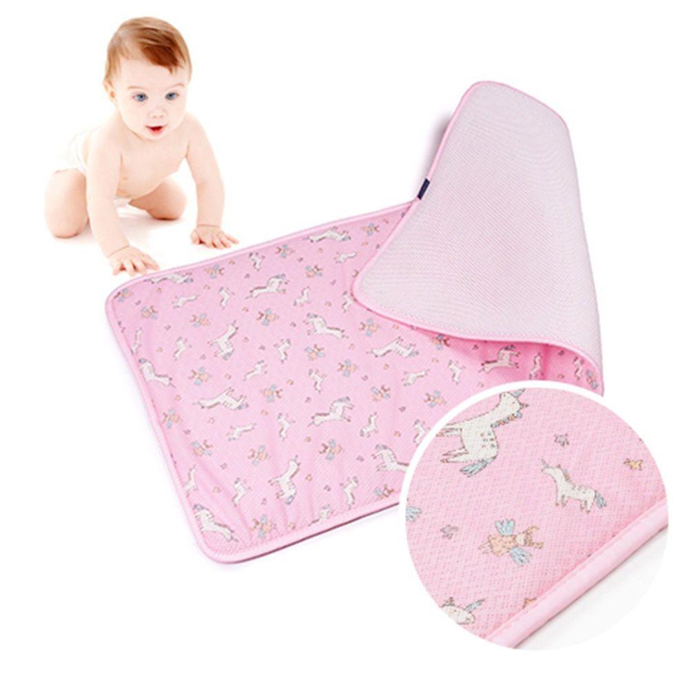 韓國 GIO Pillow - 超透氣排汗嬰兒床墊-夢幻小馬 (M號)