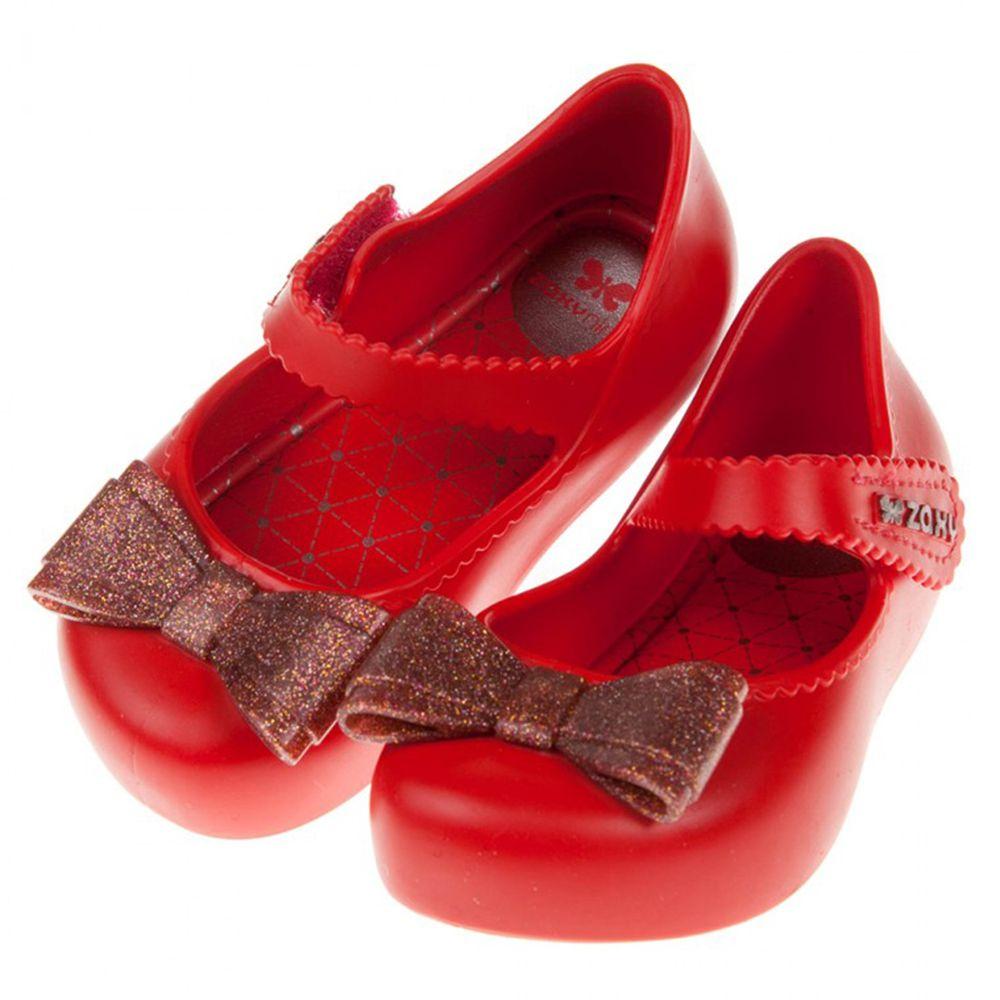 ZAXY - 夢幻蝴蝶結紅色寶寶香香鞋