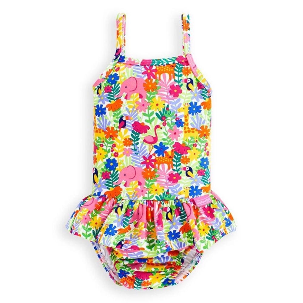 英國 JoJo Maman BeBe - 嬰幼兒/兒童/兒童連身泳裝-美麗世界