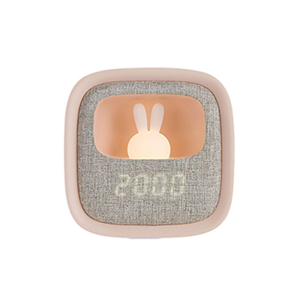 PHILIPS 飛利浦照明 - 害羞兔 LED 多功能鬧鐘 66243-PO005-粉