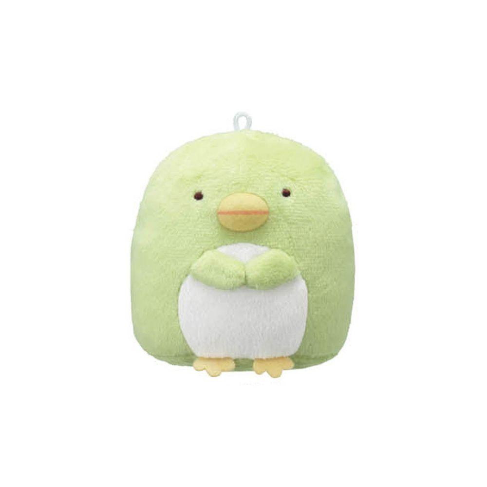 日本千趣會 - 角落生物 除臭除濕玩偶-偽企鵝-綠 (約6~7cm高)