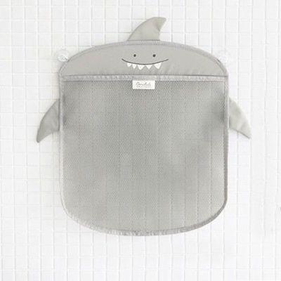 洗澡玩具收納袋-灰色鯊魚 (350*400mm)