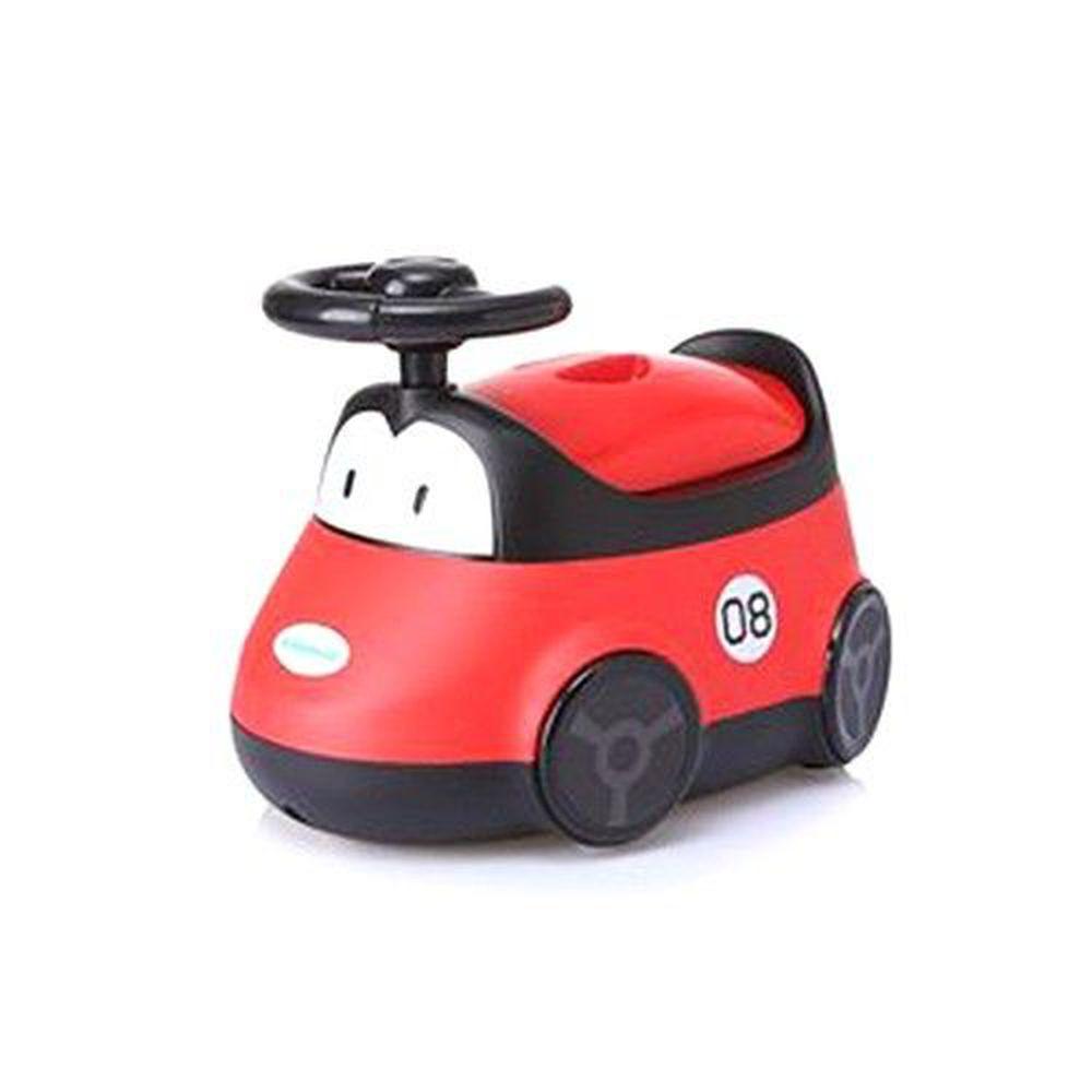 babyhood - 小汽車座便器-紅色