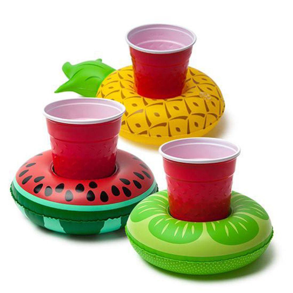 美國 Big Mouth - 造型飲料杯游泳圈-水果款