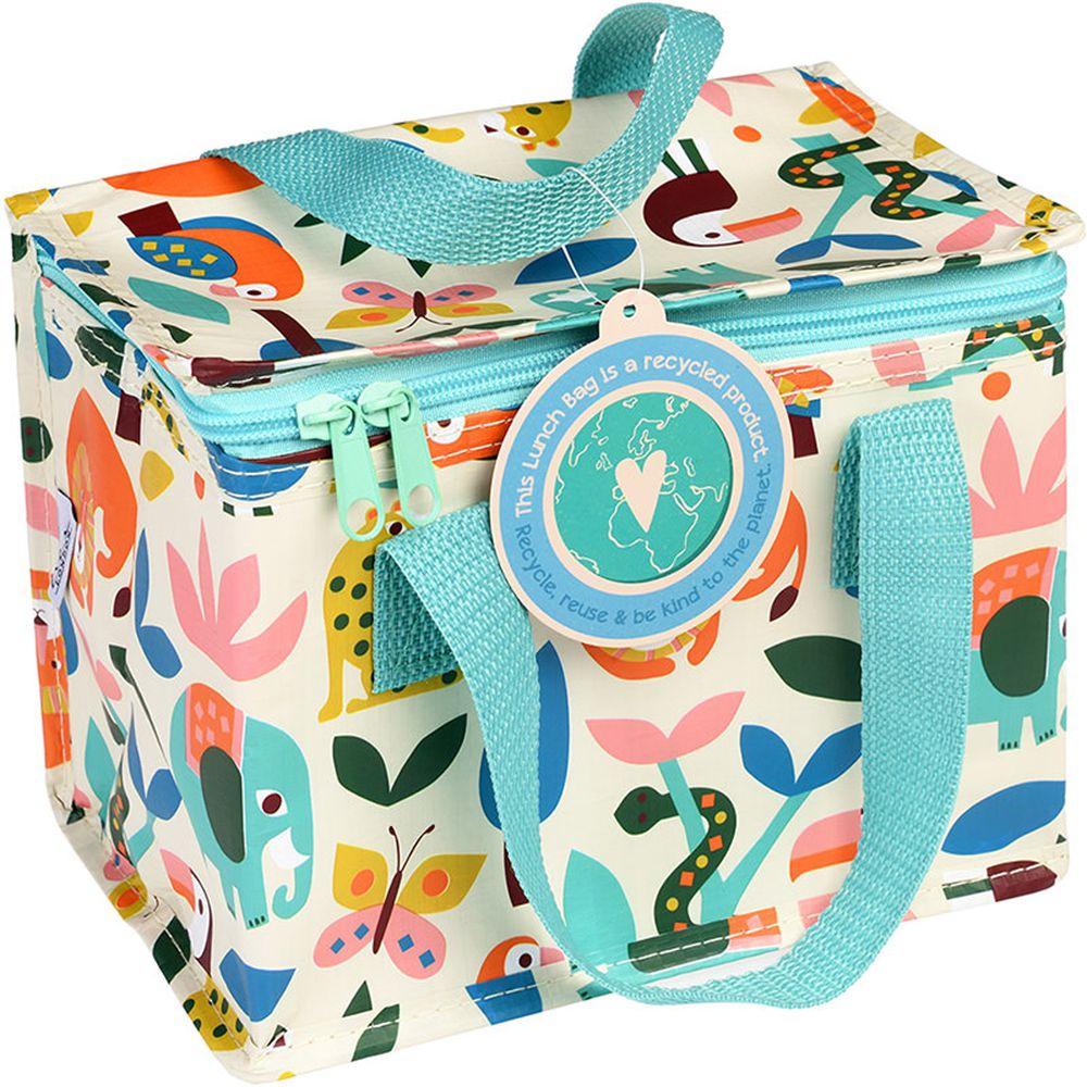 英國 Rex London - 環保保溫袋/保冷袋/便當袋/野餐袋-森林樂園