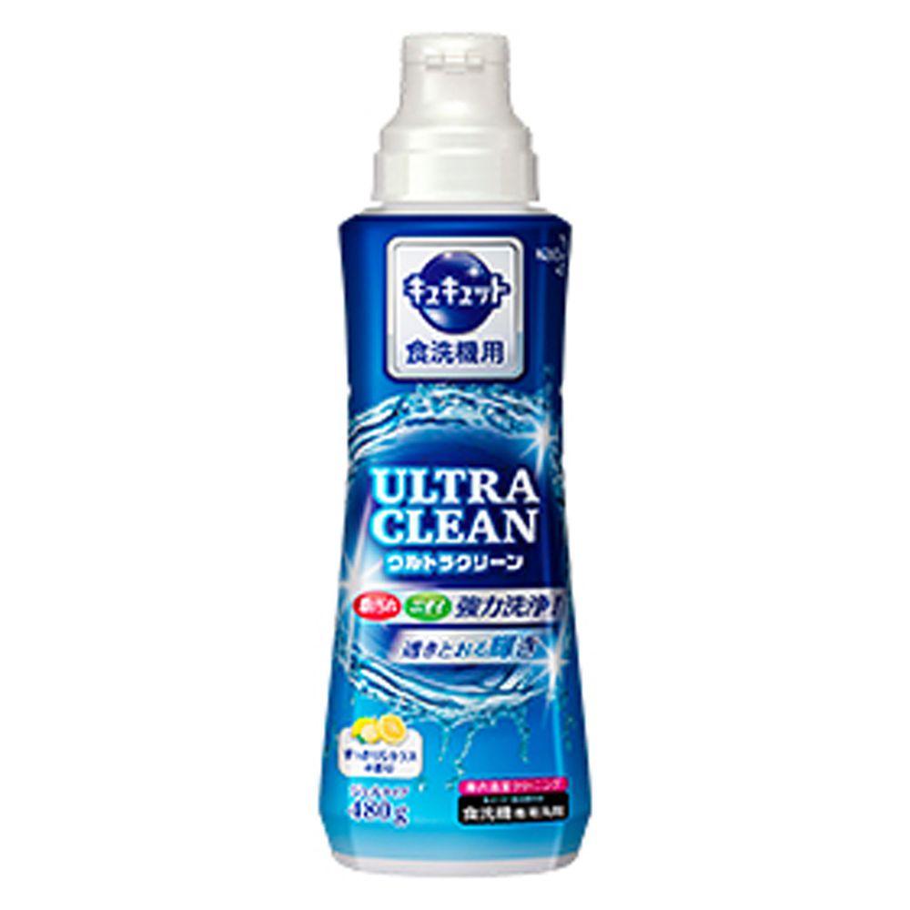 日本花王 - ULTRA CLEAN 洗碗機用強效洗碗精-清爽柑橘-480g