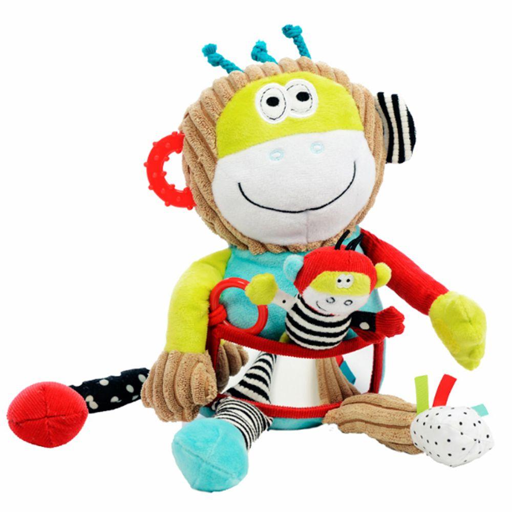 法國 Dolce Toys - 感統玩偶-超級保姆蒙奇