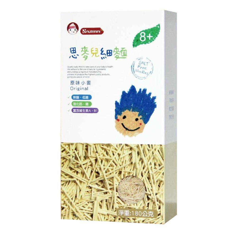 脆妮妮 nutrinini - 思麥兒原味酵素細麵-180g/6入