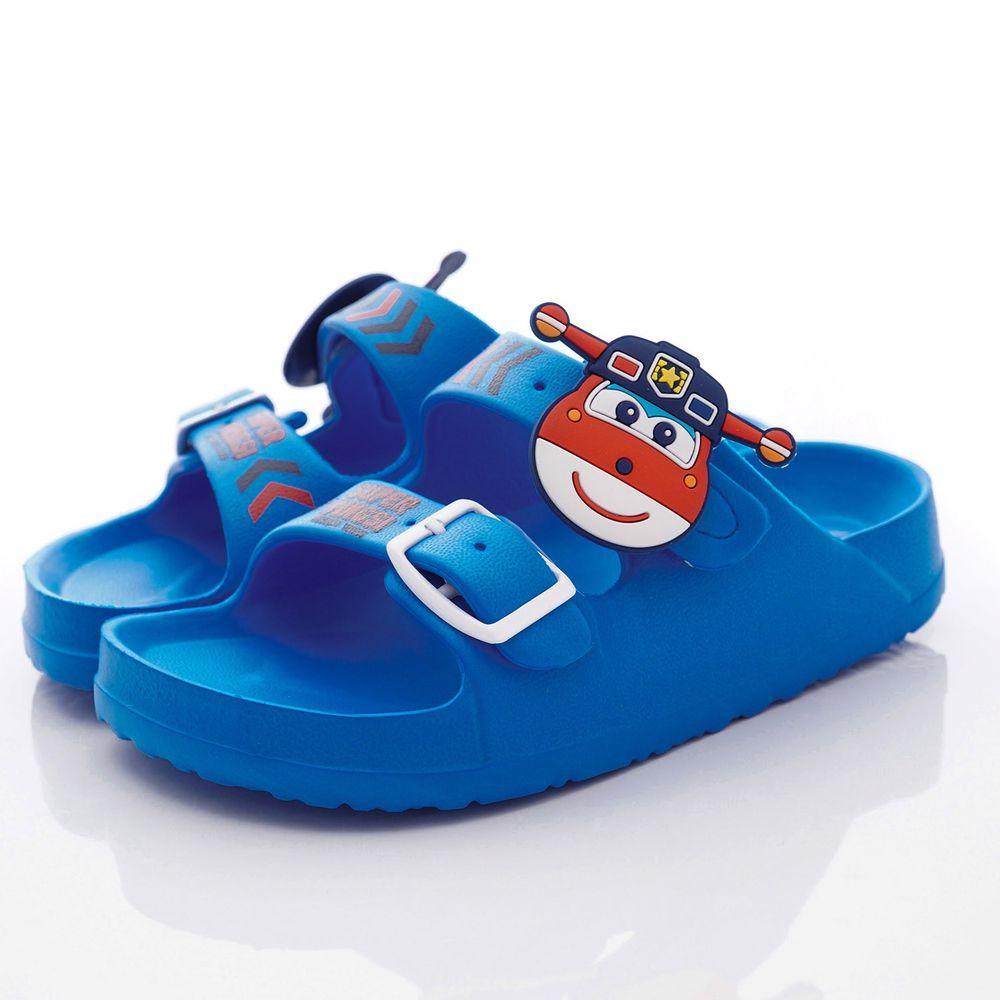 Super Wings - 超輕量休閒涼鞋/拖鞋(中小童段)-藍-S204706藍