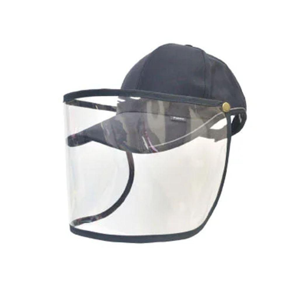 貝柔 Peilou - UPF50+多功能防疫遮陽鴨舌帽-黑色 (頭圍: 59cm)