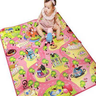 兒童安全遊戲地墊-小-甜心糖果城 (100 x 120cm)