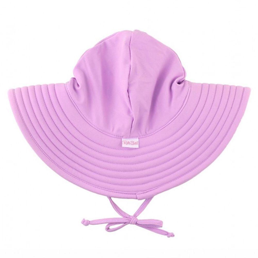美國 RuffleButts - 嬰幼兒UPF 50+防曬遮陽帽-優雅紫