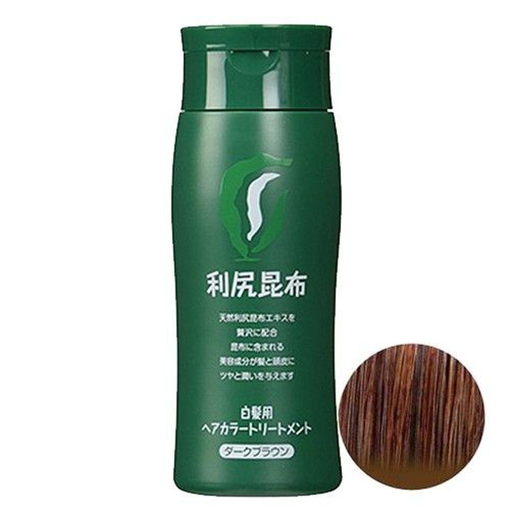 日本 SASTTY - 利尻 カラーシャンプ 昆布天然無添加植物染髮膏-褐色-200ml