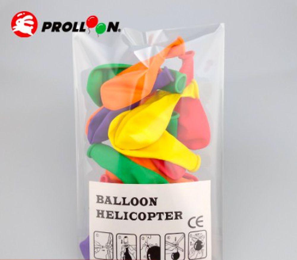 大倫氣球 - 直升機氣球補充包(20顆裝)-顏色隨機