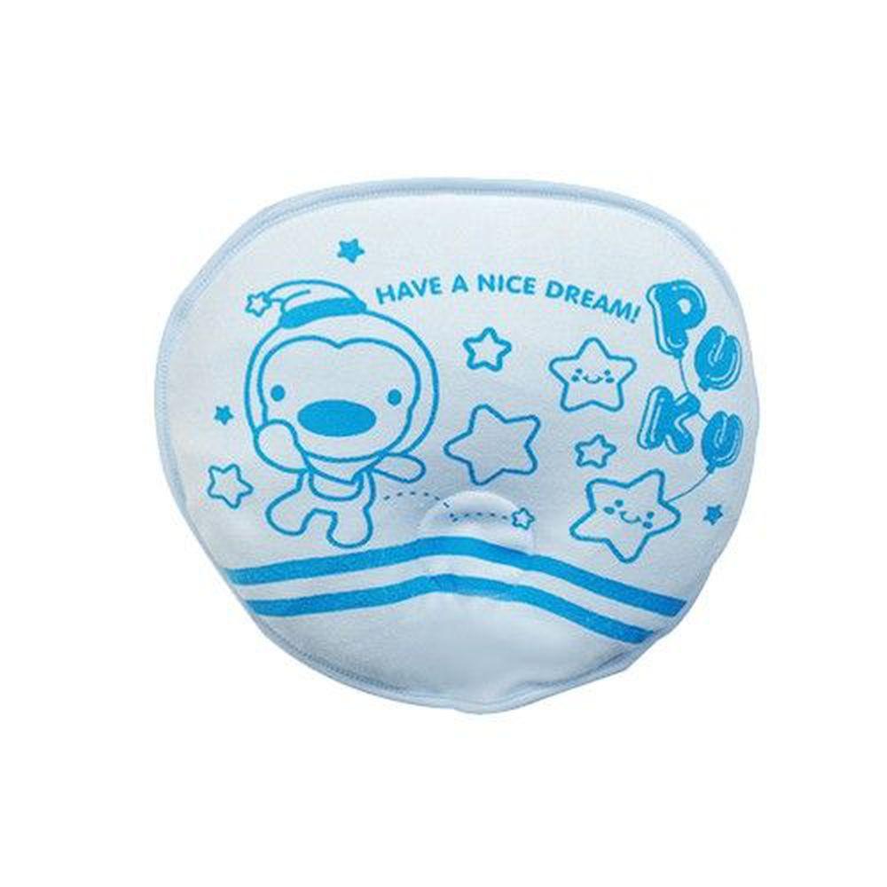PUKU 藍色企鵝 - 塑型乳膠枕-水