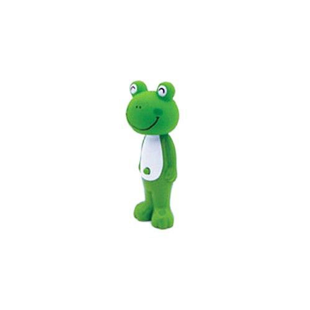 日本 U-COMPANY - Bounce up 彈跳牙刷-青蛙-綠