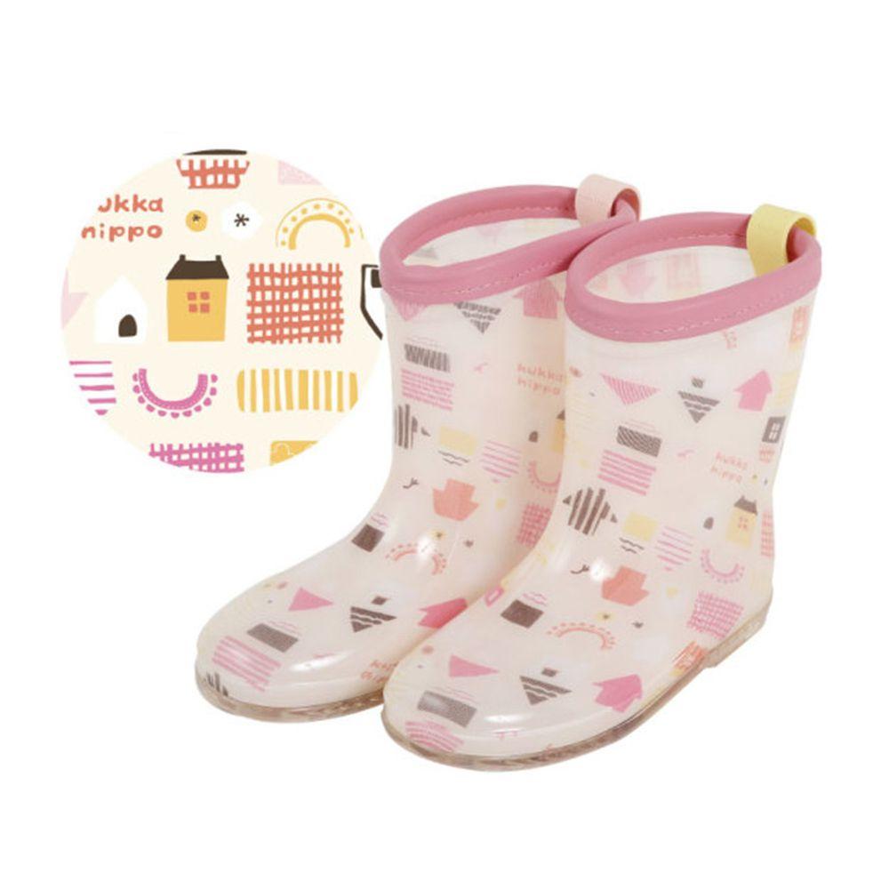 日本 kukka hippo - 小童雨鞋-粉橘小屋