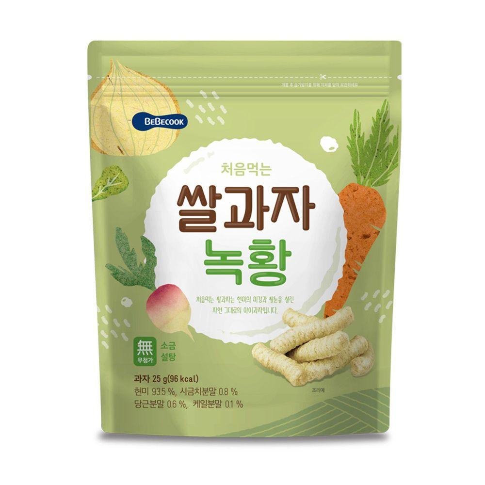 BEBECOOK 寶膳 - 智慧媽媽 嬰幼兒蔬菜米棒(7M以上)